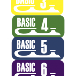 Basic 1-8 badges